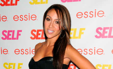 Melissa Gorga Red Carpet Photograph