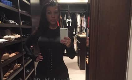 Kourtney Kardashian Flaunts Tiny Waist, Is a Sell Out
