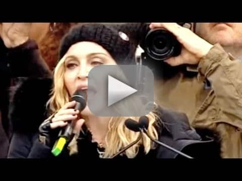 Madonna i want to blow up the white house