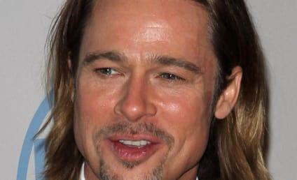 Celebrity Facial Hair Affair: Brad Pitt