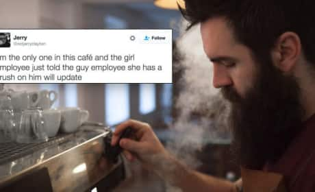 Coffee Shop Patron Live-Tweets the Greatest Love Story of Our Time