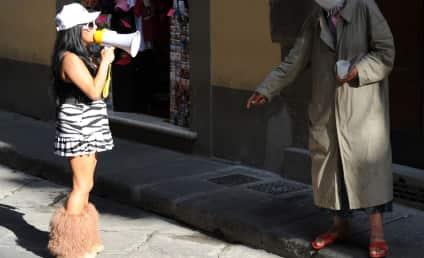 Area Gypsy Woman Puts Curse on Snooki