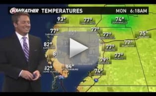 Weather Report Gets Interrupted by Pokemon Go Players