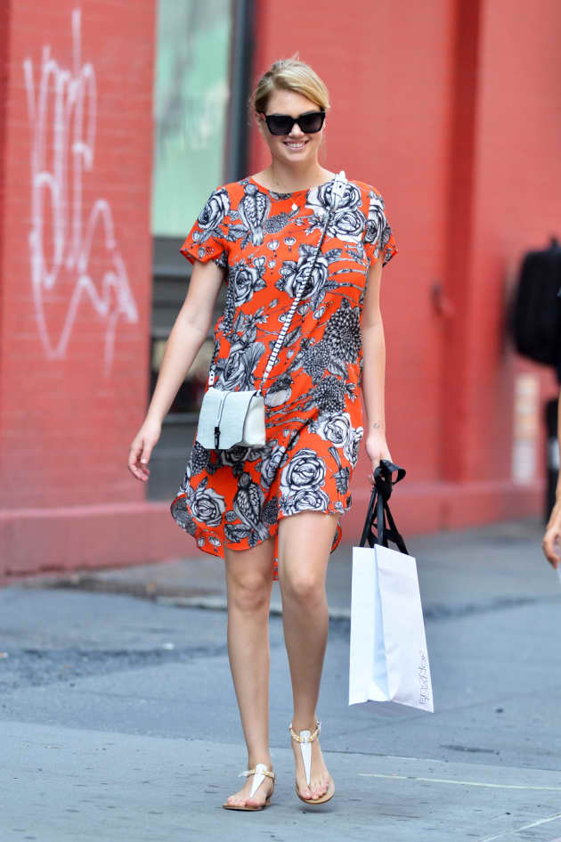 Kate Upton Baggy Dress Photo