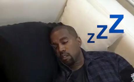 Kanye Asleep