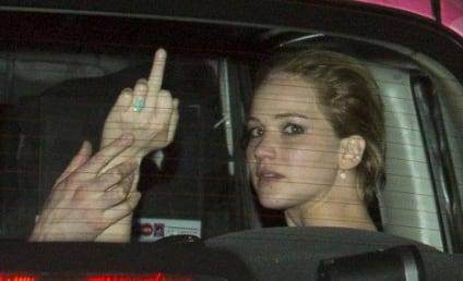 Jennifer Lawrence Engagement Ring Revealed in Paparazzi Flip-Off?