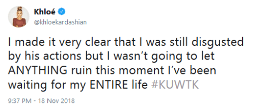 Khlow Kardashian KUWTK Livetweet Childbirth Tristan 02