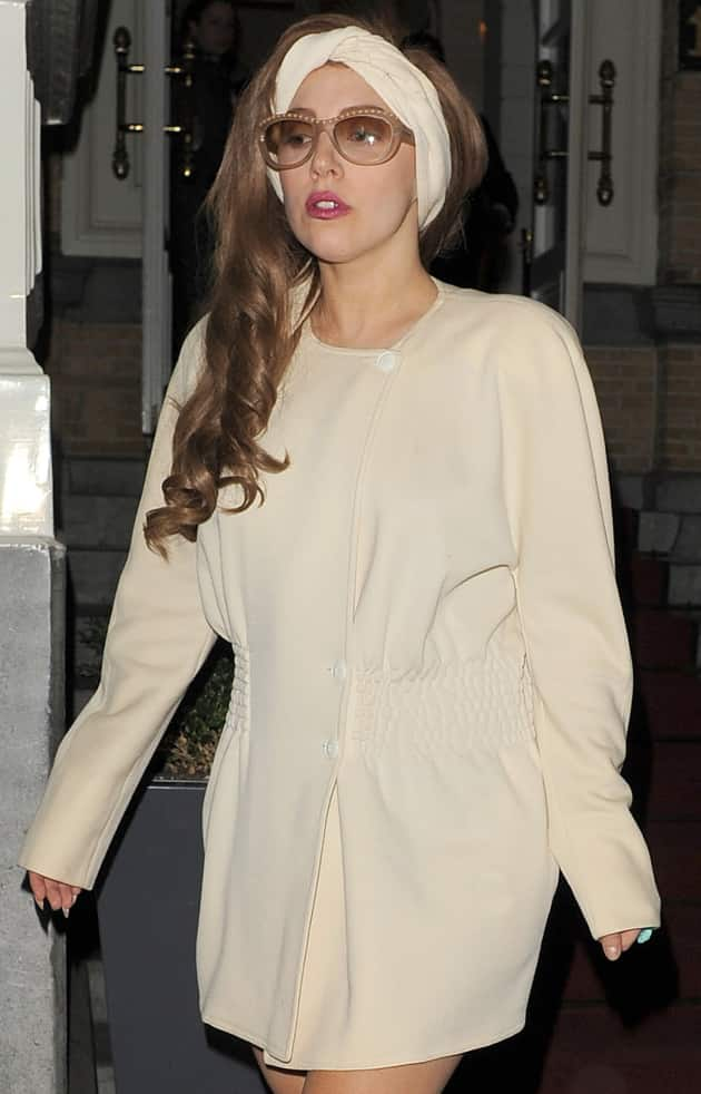 Lady Gaga's Glasses