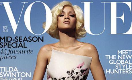 Rihanna Vogue UK Cover