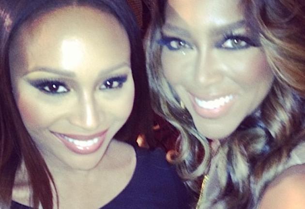 Kenya Moore and Cynthia Bailey