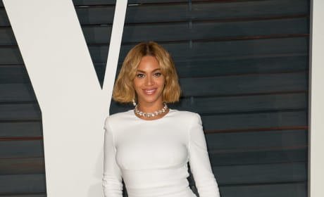 Beyonce at the Vanity Fair Oscars After Party