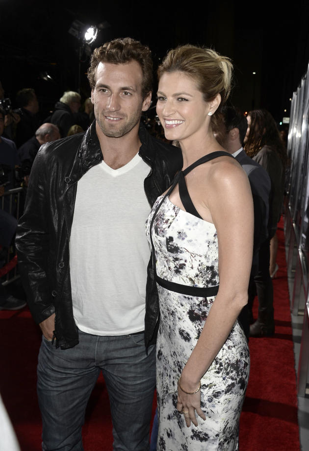 Erin Andrews in White - The Hollywood Gossip