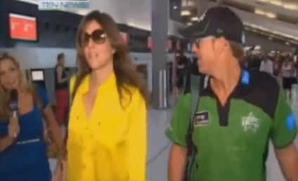 Elizabeth Hurley Spat with Reporter: Awesome, Caught on Camera!