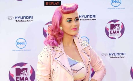 Pink Haired Katy Perry