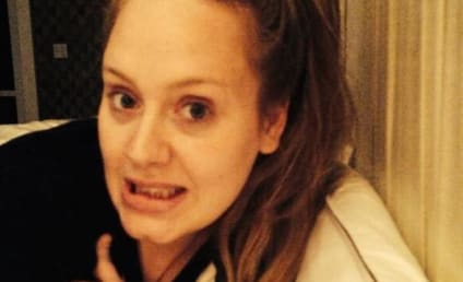 Adele Goes Makeup-Free, Teases New Album