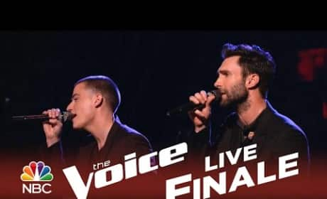 Adam Levine and Chris Jamison - Lost Without U (The Voice Finals)