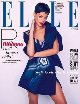 Rihanna Elle Cover (UK)