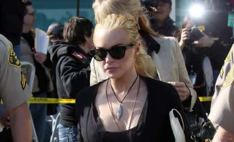 What's Lindsay Lohan's best look for court?