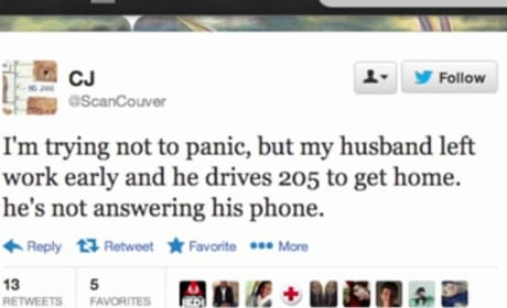 Woman Unknowingly Live Tweets Husband's Fatal Car Crash