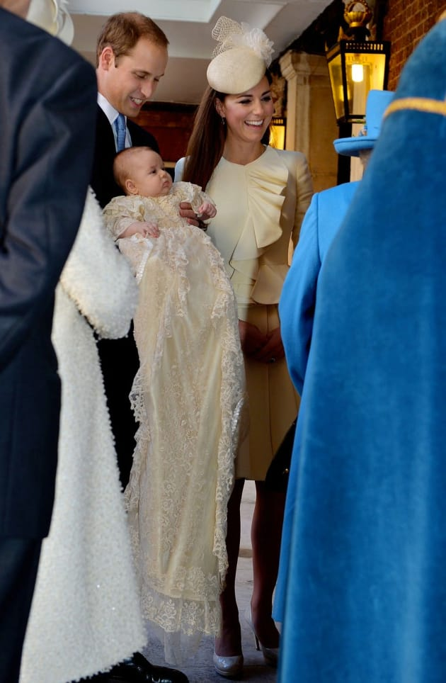 St George Auto >> Prince George Christening: Photos & Details Galore! - The Hollywood Gossip