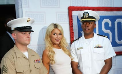 Paris Hilton Supports the Troops