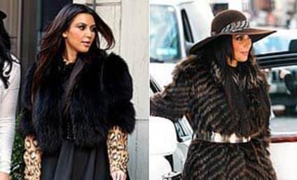 PETA: FUR-ious Over Kim Kardashian Koat Selektion