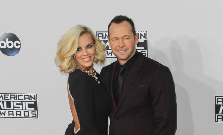 Jenny McCarthy and Donnie Wahlberg at the American Music Awards