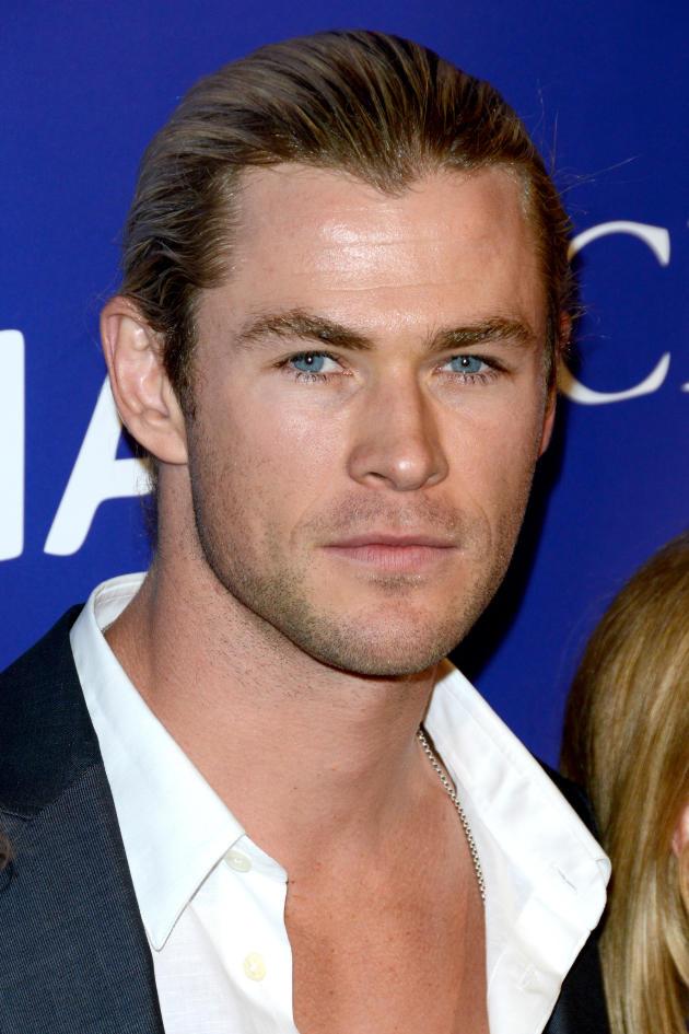 Chris Hemsworth Close Up