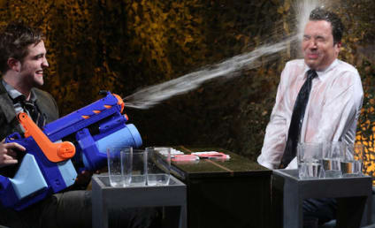 Robert Pattinson Gets Soaked on Jimmy Fallon, Would Love to Be a Puppet