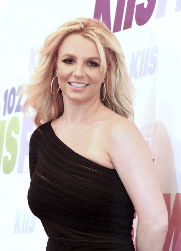 Britney Spears Red Carpet Pose