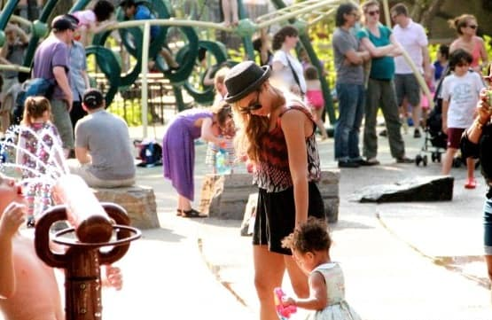 Blue Ivy and Beyonce