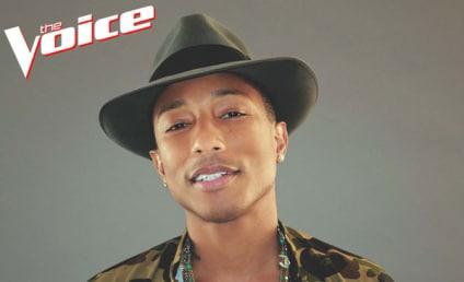 Pharrell Williams: The Voice Coach For Season 7!