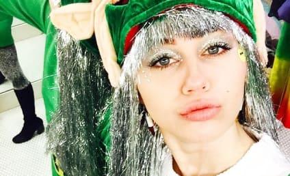 Miley Cyrus: Lip Injection Rumors Sparked By Trippy Elf Selfie