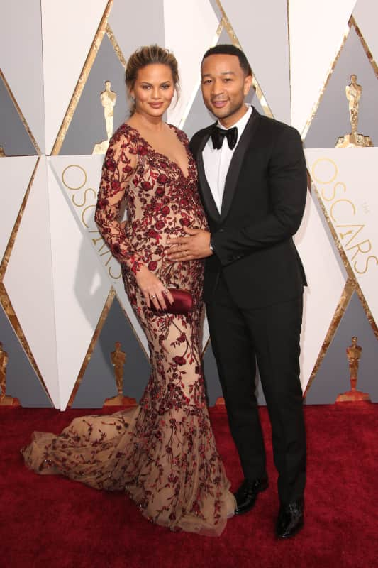 John legend and chrissy teigen 2016 academy awards
