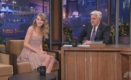 Taylor Swift Laughs AT, Not With Jay Leno