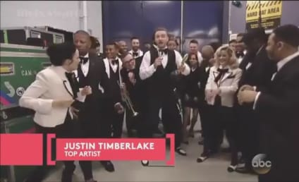 Justin Timberlake Wins Top Artist at Billboard Music Awards, Thanks Everyone Except ...
