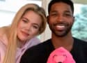 Khloe Kardashian and Tristan Thompson: Look! We're a Happy Family!