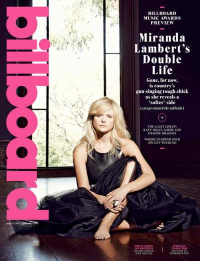 Miranda Lambert Billboard Cover