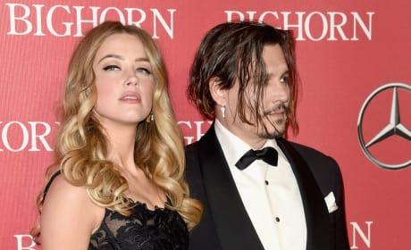 Amber Heard and Johnny Depp: Throwback Photo