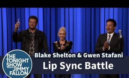 Gwen Stefani and Blake Shelton Own Jimmy Fallon in Epic Lip Sync Battle