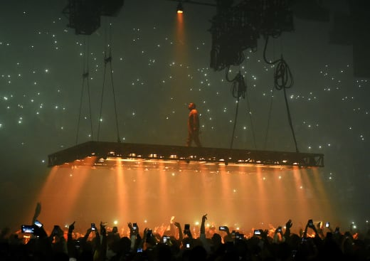Kanye West in Inglewood