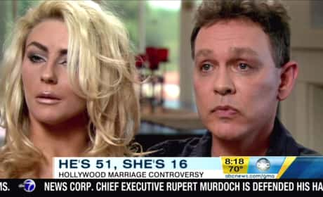Courtney Stodden and Doug Hutchison Interview Photo
