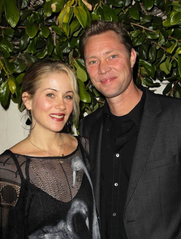 Martyn LeNoble and Christine Applegate
