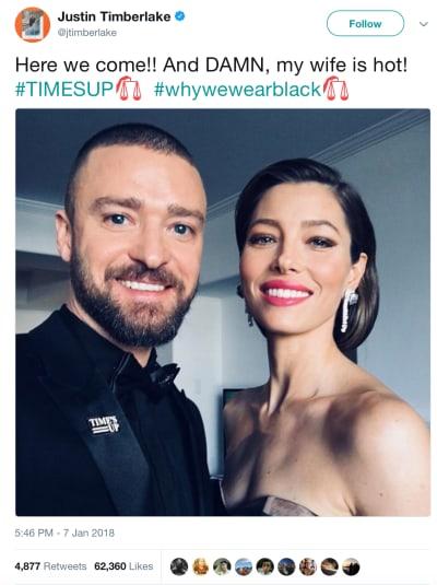 Justin Timberlake Twit Pic