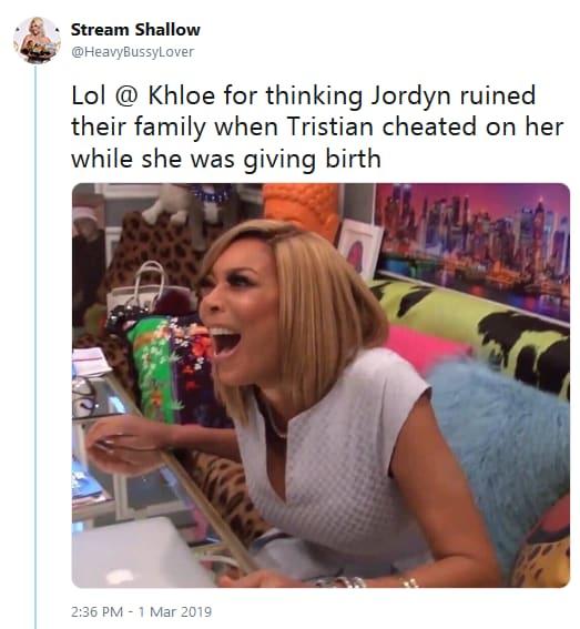 Khloe vs jordyn woods jada pinkett smith tweet 01