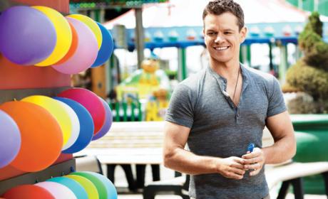 Matt Damon GQ Photo