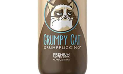 "Grumpy Cat ""Grumppuccino"" to Be Released in September"