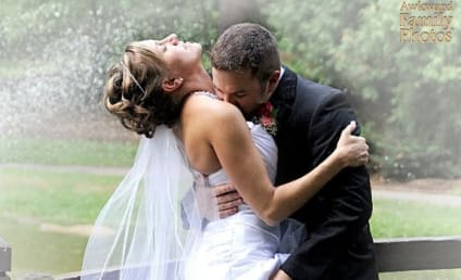 13 VERY Awkward Wedding Photos (#9 Features a Donkey!)