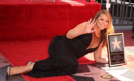 Mariah Carey and Her Star