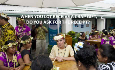 Kate Middleton Talks to the Natives